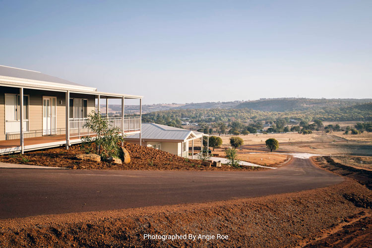 northam hills country side views, retirement lifestyle village